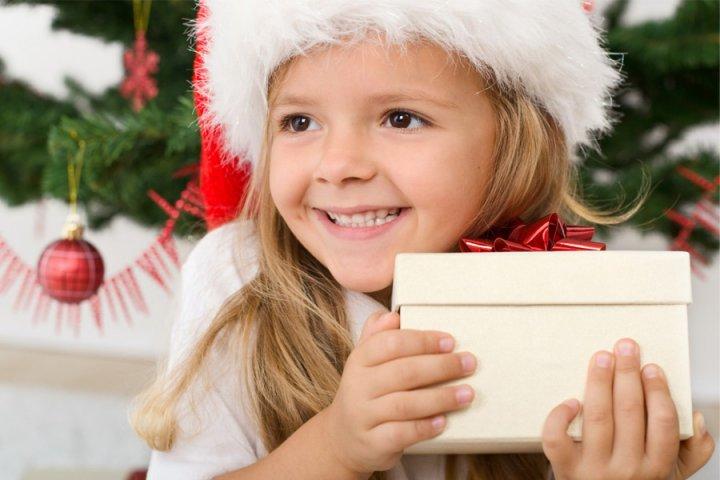 Радость ребенка на подарок 819