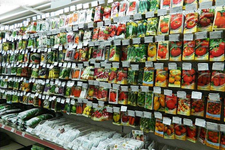 Магазин по продаже семян и растений